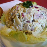Bramborový salát s krůtím masem recept
