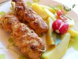 Kuřecí špízy s hermelínem a ředkvičkami recept
