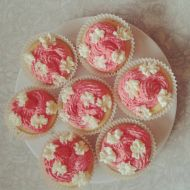 Vanilkovo-tvarohové cupcakes recept