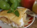 Jablka zapečená s tvarohem recept