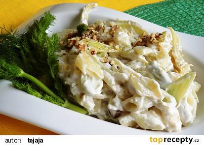 Těstoviny s fenyklem recept