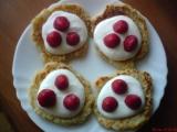 Rýžové lívanečky se zakysanou smetanou a ovocem recept ...