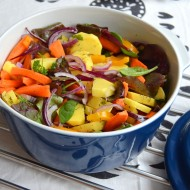 Pečená zelenina z trouby s tymiánem recept