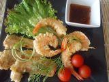 Krevety  garnely v tempuře recept