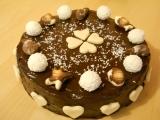 Čokoládový dort s rebarborou recept