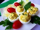 Plněná vejce s tvarůžky recept