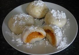 Kynuté knedlíky  meruňkové s tvarohem recept