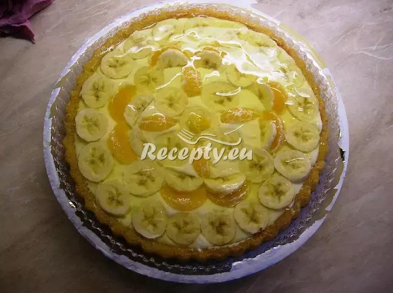 Rychlý dort s ovocem recept  moučníky