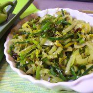 Zelená zeleninová příloha recept