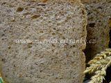 Pšenično-žitný chléb s lněným semínkem recept