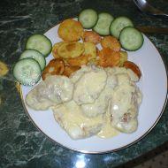 Hovězí svíčková s pečeným bramborem recept