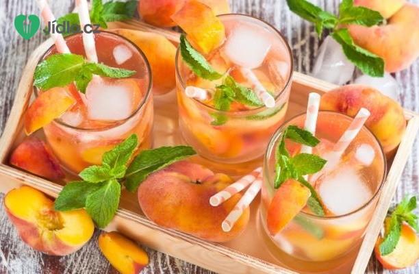 Čerstvá broskvová limonáda recept