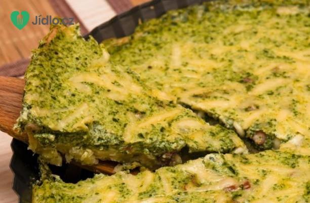 Špenátový quiche (kiš) recept