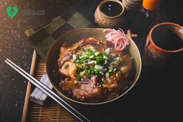 Asijský pečený bůček recept
