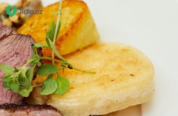 Bramborovo-česnekový knedlík recept