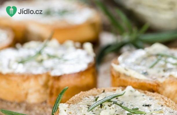 Bylinkové máslo recept