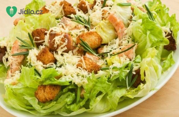 Caesar salát s Ančovičkami recept