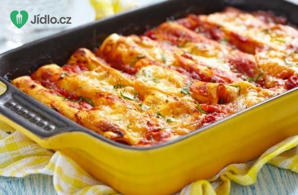 Cannelloni z lilku s houbami recept