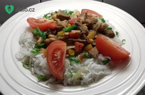 Čína s jasmínovou rýží recept