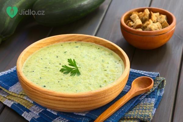Cuketová polévka recept