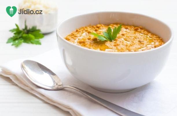 Dýňová polévka s červenou čočkou recept