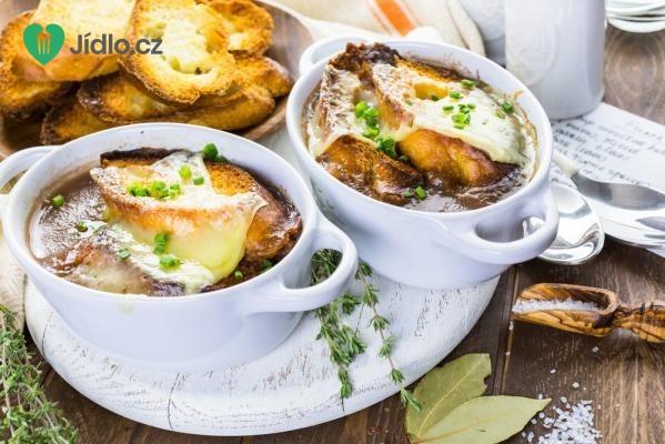 Francouzská cibulačka recept