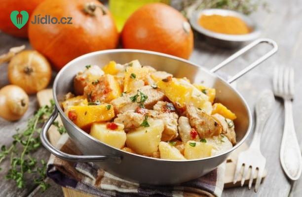 Glazované kuře s parmezánovými brambory recept