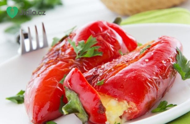 Grilované papriky s feta recept