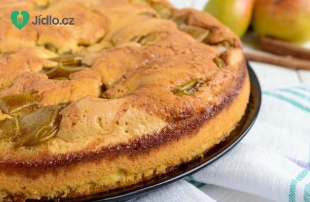 Hruškový koláč recept