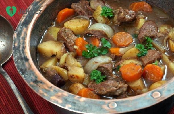 Irské dušené hovězí recept