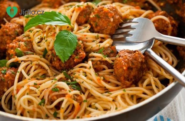 Italská omáčka na špagety s masovými kuličkami recept