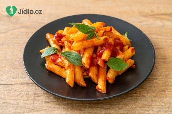 Italské těstoviny s rajčatovou omáčkou recept
