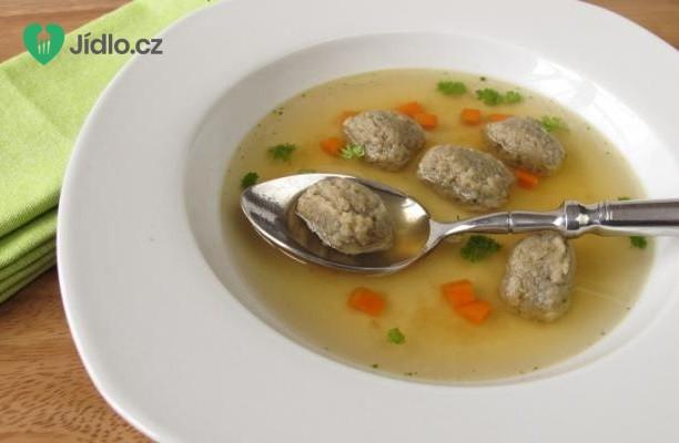 Játrové knedlíčky do polévky recept