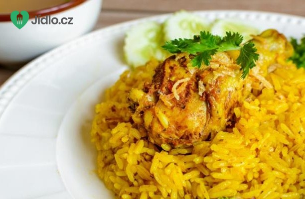 Kuře Biryani recept
