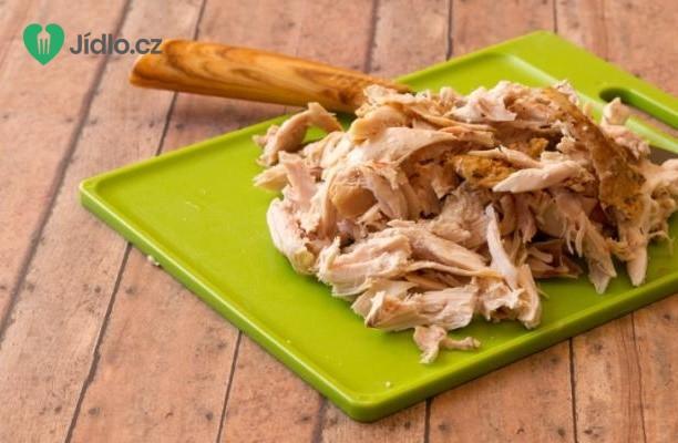 Kuře v  omáčce s knedlíky recept