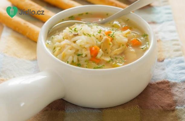 Kuřecí polévka s rýží recept