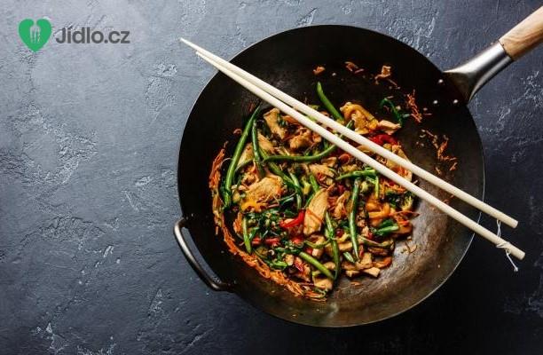 Kuřecí stir-fry se zeleninou recept