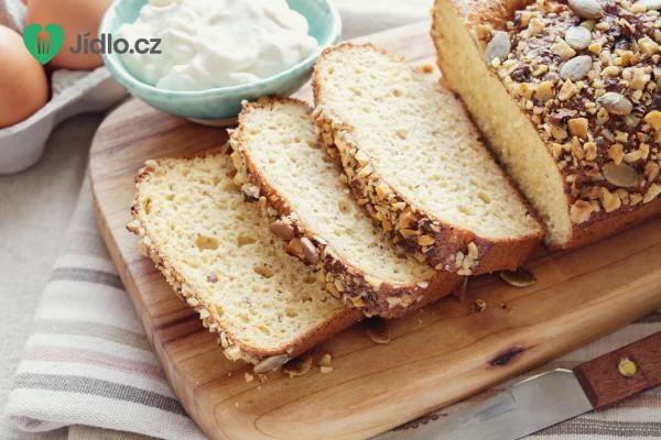 Low carb jogurtový chléb recept