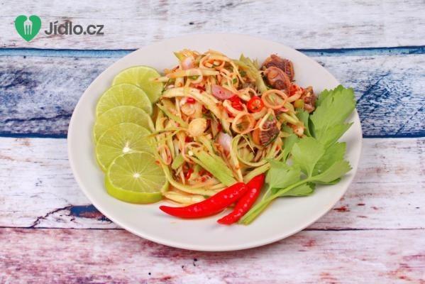 Mango salát recept