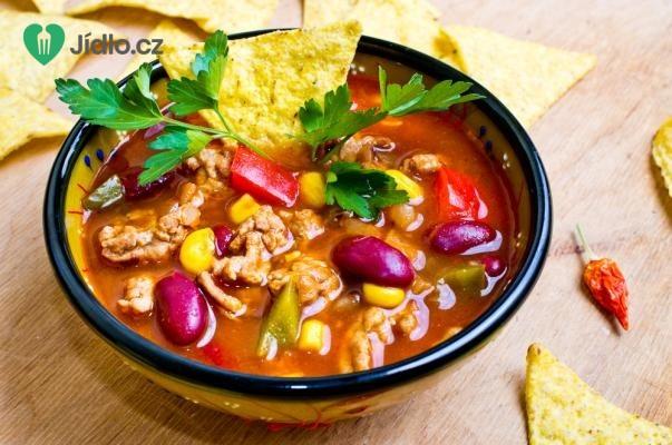 Mexická polévka recept