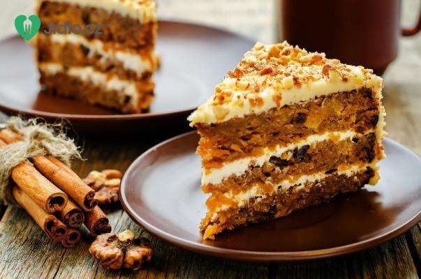 Mrkvový dort s polevou recept