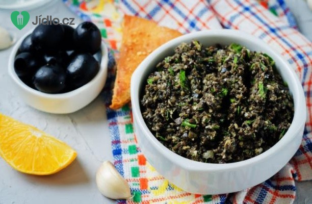 Olivová pomazánka s kapary recept