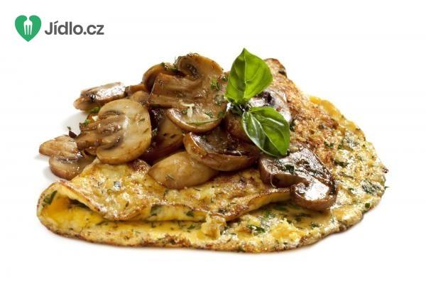 Omeleta se žampiony recept