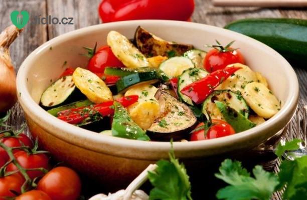 Pečená podzimní zelenina recept