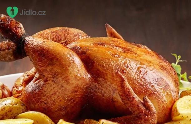 Pečené kuře s bramborami recept