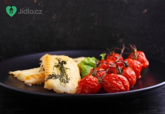 Pečená treska s rajčaty recept