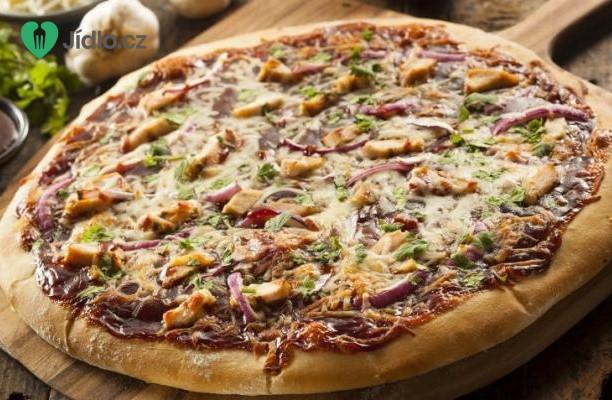 Pizza s kuřecím masem recept