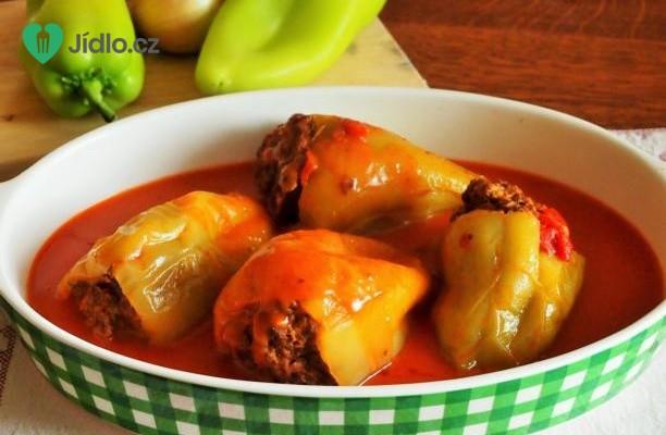 Plněné papriky recept