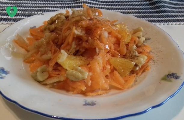 Podzimní ovocný salát recept