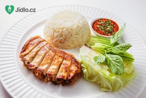 Přírodní kuřecí prsní řízek s rýží recept